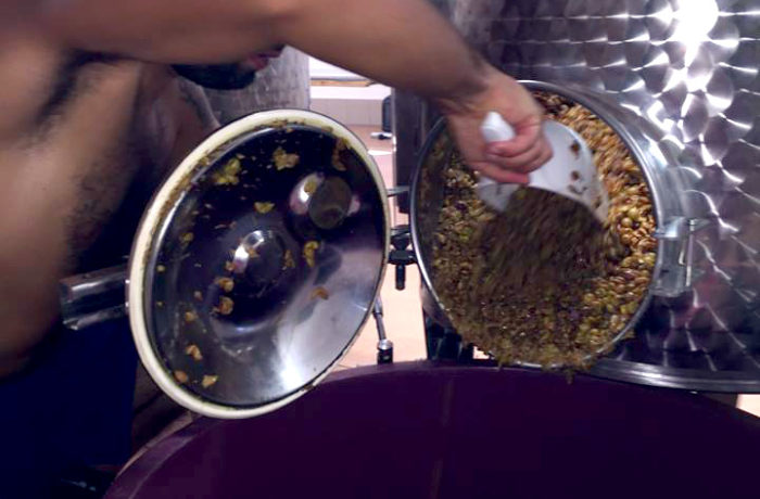 End of maceration